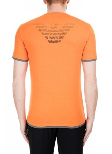 EA7 Emporio Armani  T Shirt Erkek T Shırt S 6Gpt02 Pj03Z 3600 Oranj